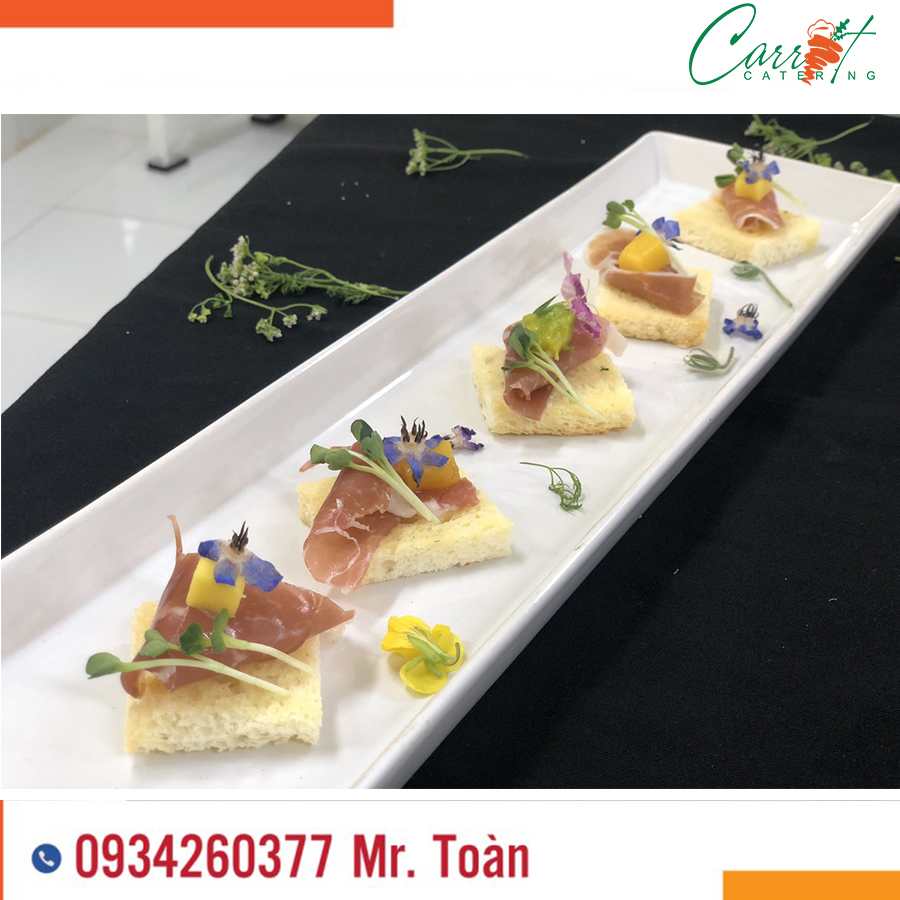 Tiệc Finger food tại Carrot Catering Service