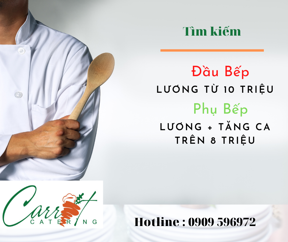 (Tiếng Việt) Carrot Catering – Tuyển dụng 2020